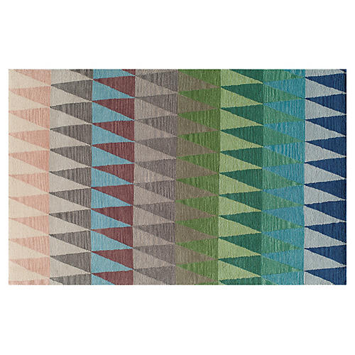 Savannah Rug, Blue/Multi