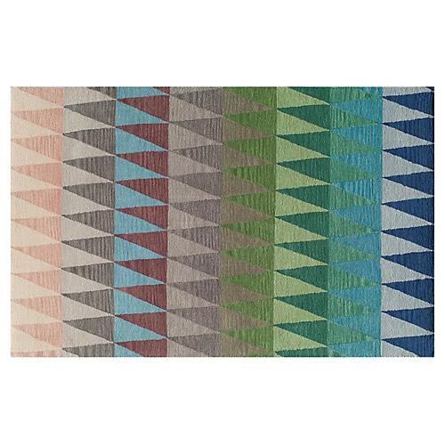 Savannah Rug, Blue/Multi