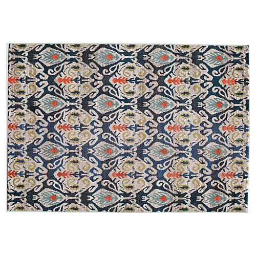 Bard Rug, Navy/Multi