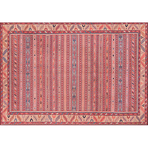 Antonella Rug, Red/Multi