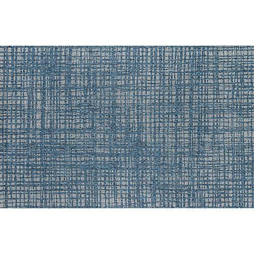 Huniot Outdoor Rug, Blue
