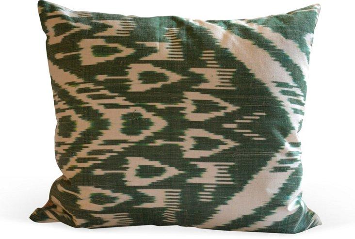 Silk Ikat Pillow II