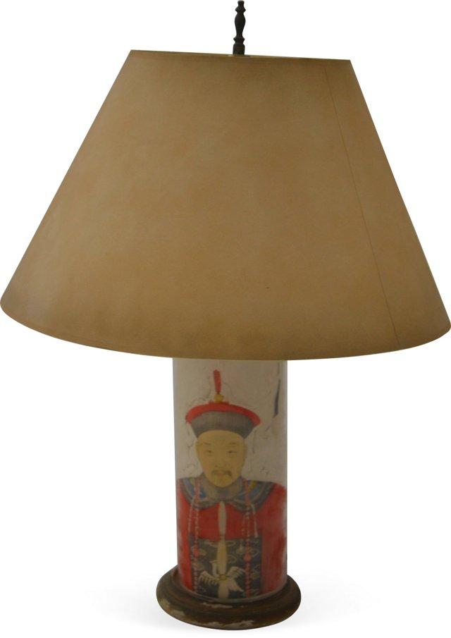 1940s Chinese Lamp