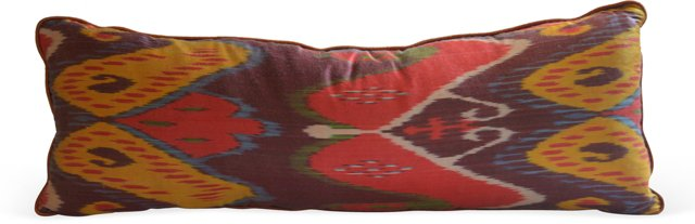 Silk Ikat Pillow I