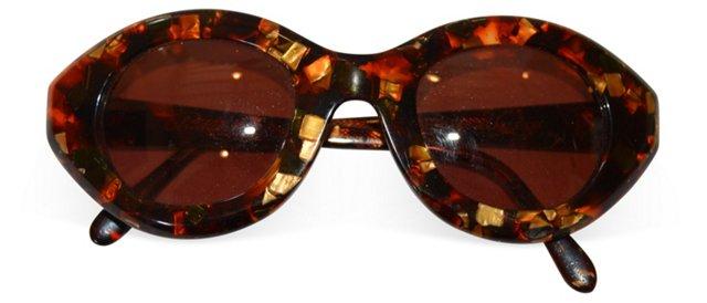 1980s Paris Biarritz Sunglasses