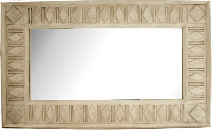 Gingerbread-Style Mirror