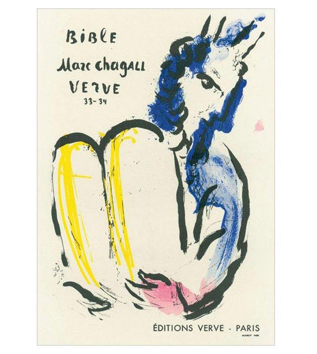 M. Chagall, Bible Editions Verve, Paris