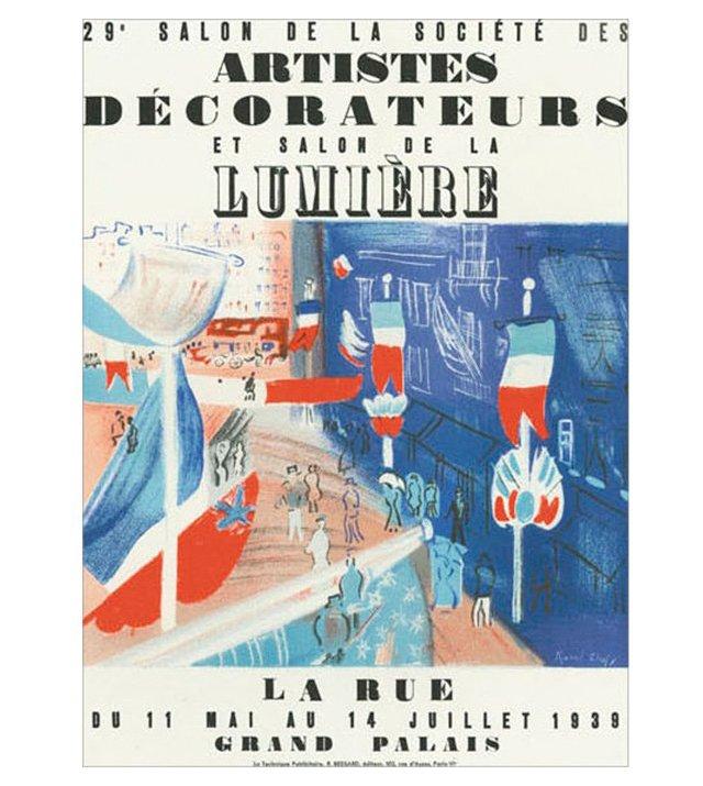 R. Dufy, Salon des Artistes Décorateurs