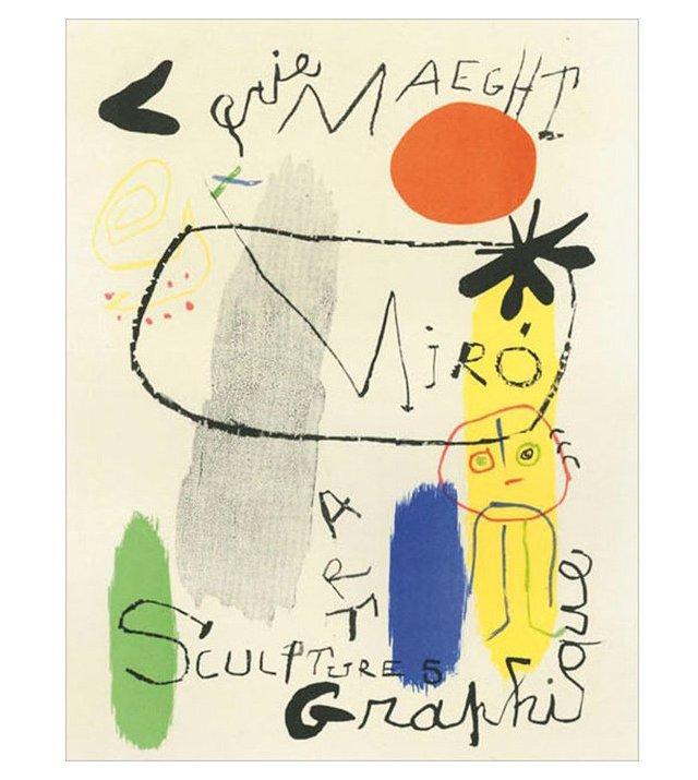Joan Miró, Art Graphique, Paris