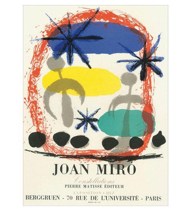 Joan Miró, Constellations, Paris
