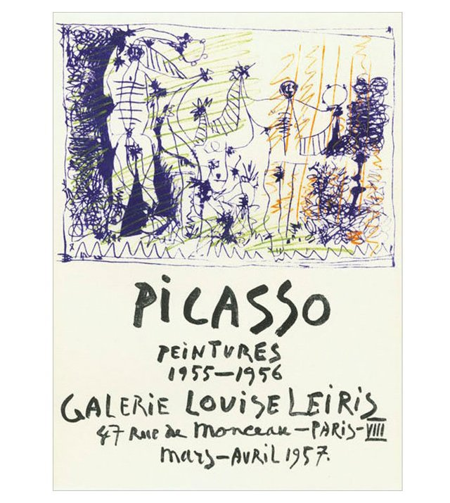 Pablo Picasso, Peintures 1955-1956