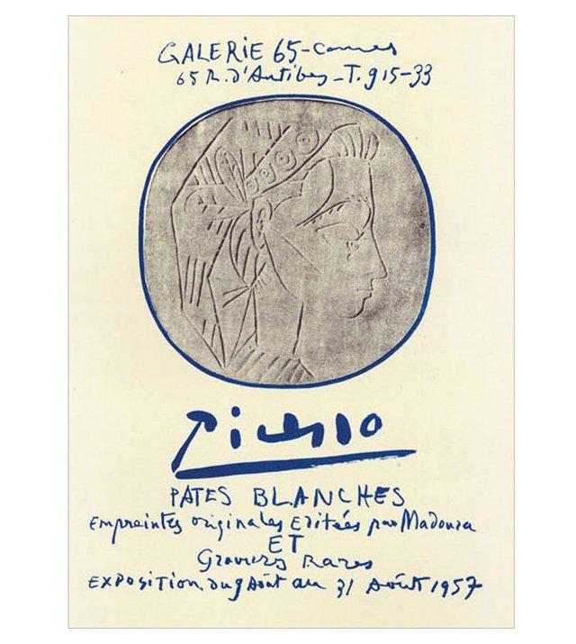 Pablo Picasso, Pâtes Blanches, Cannes