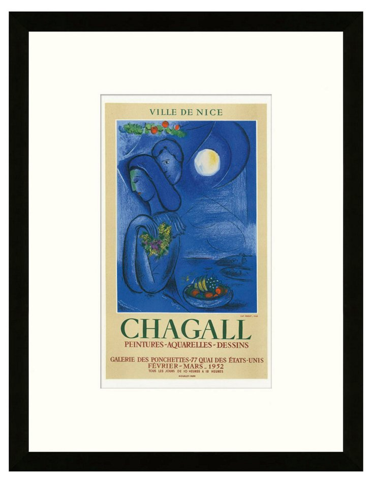 Chagall, Galerie des Ponchettes, Nice