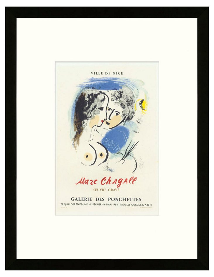 Marc Chagall, Oeuvre Gravé, Nice