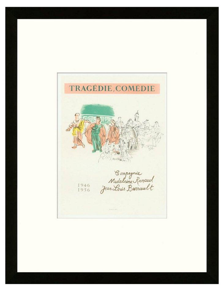 Raoul Dufy, 'Tragédie - Comédie'