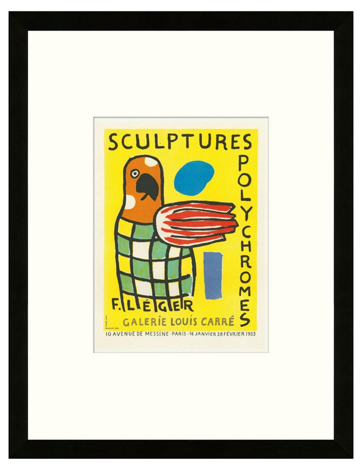 Fernand Léger, Sculptures Polychromes
