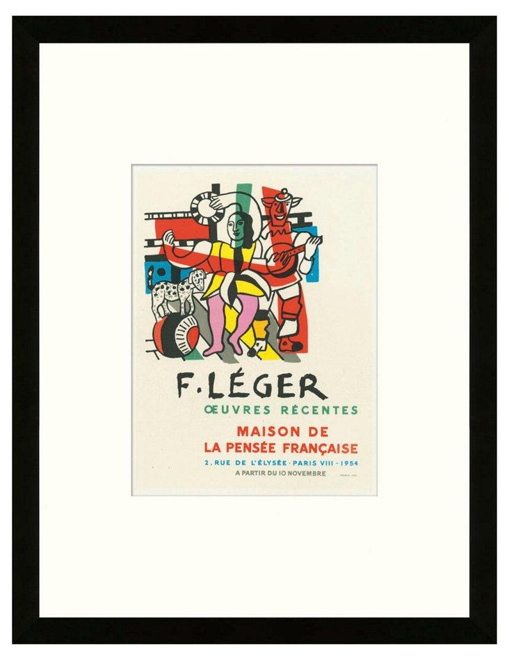 Fernand Léger, Oeuvres Récentes, Paris