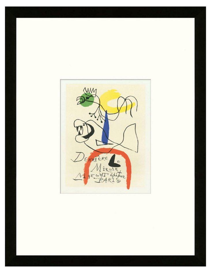 Joan Miró, 'Derrière le Miroir', Paris