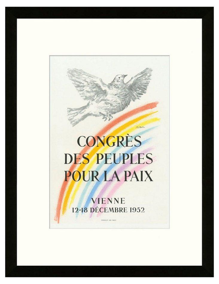 Picasso, Congrès pour la Paix, Vienna