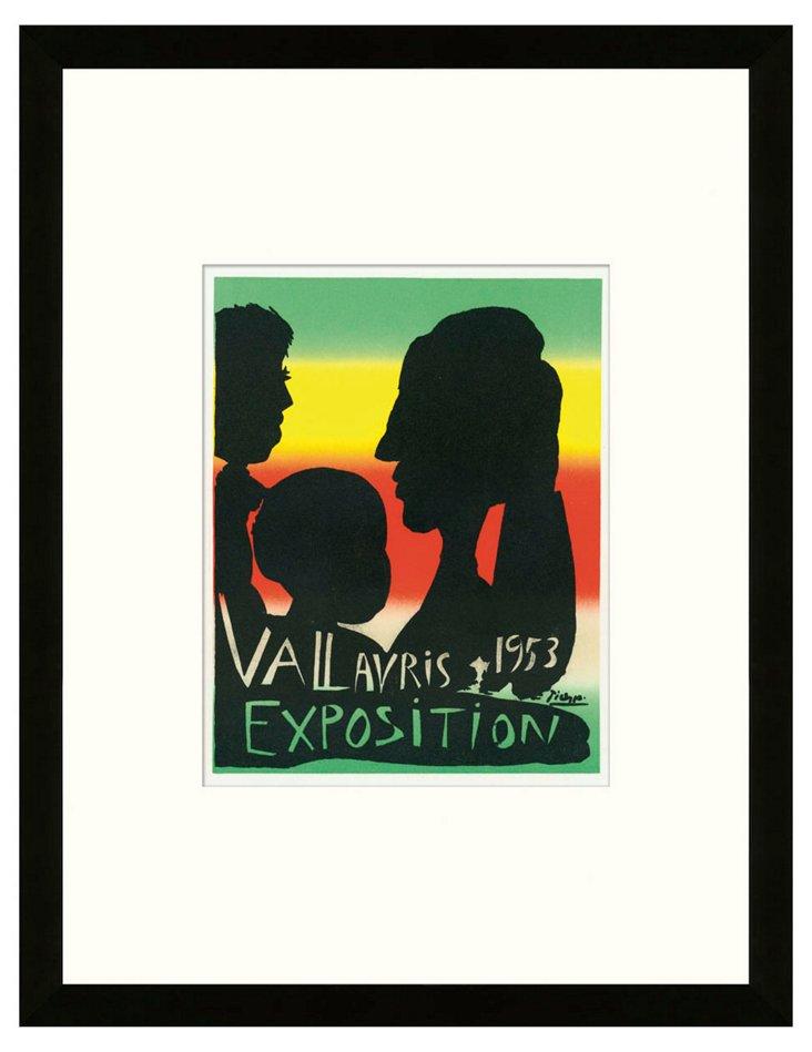 Pablo Picasso, Exposition Vallauris III
