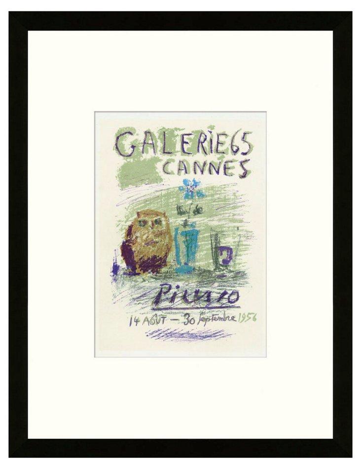 Pablo Picasso, Galerie 65, Cannes