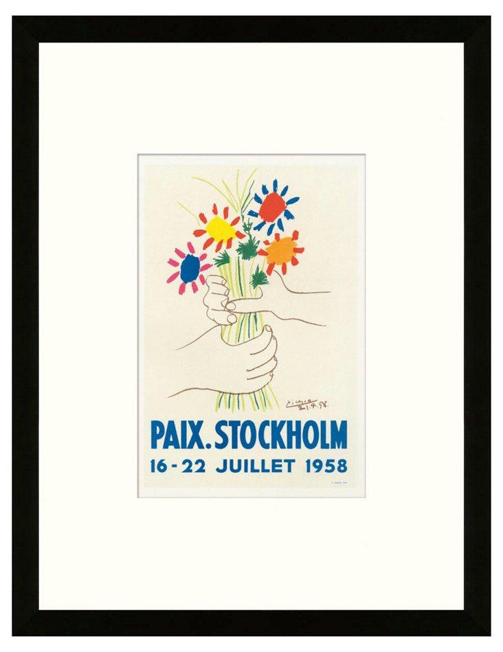 Pablo Picasso, 'Paix', Stockholm