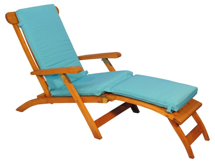 Devon Steamer Chair, Aruba