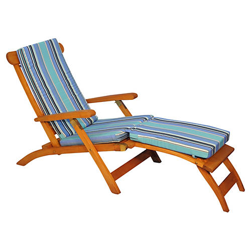 Devon Steamer Chair, Dolce Oasis