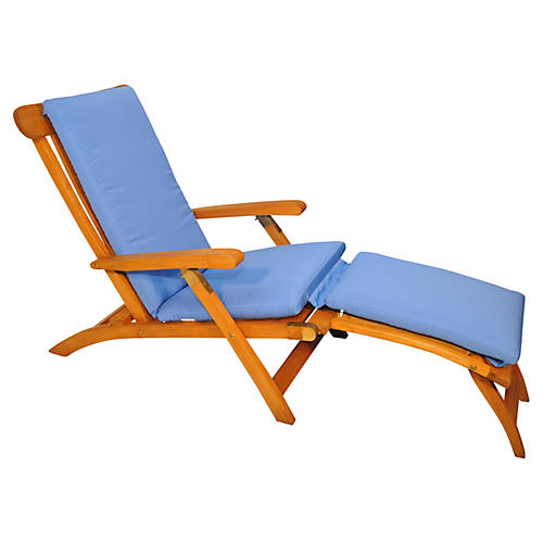 Devon Steamer Chair, Capri