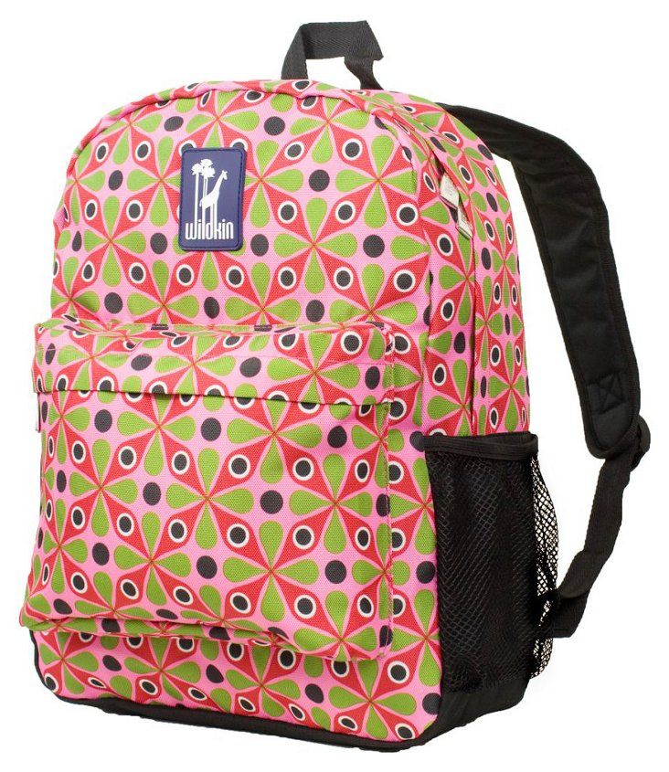 Kaleidoscope Pink Tag-Along Backpack
