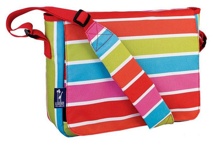 Bright Stripes Messenger Bag