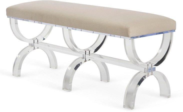 Custom Plexiglas Bench