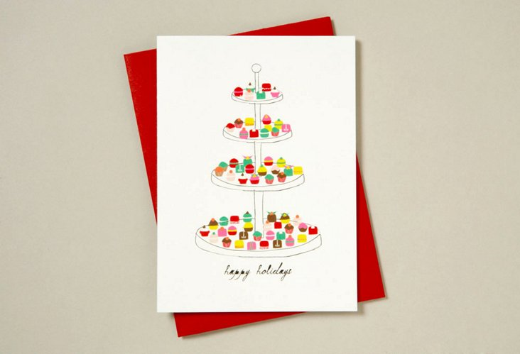 S/12 Happy Holidays Sweets Cards