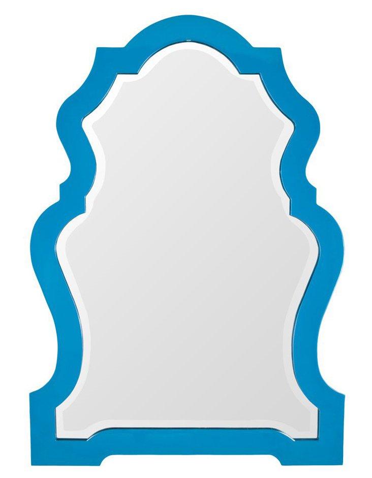 Grace Wall Mirror, Blue