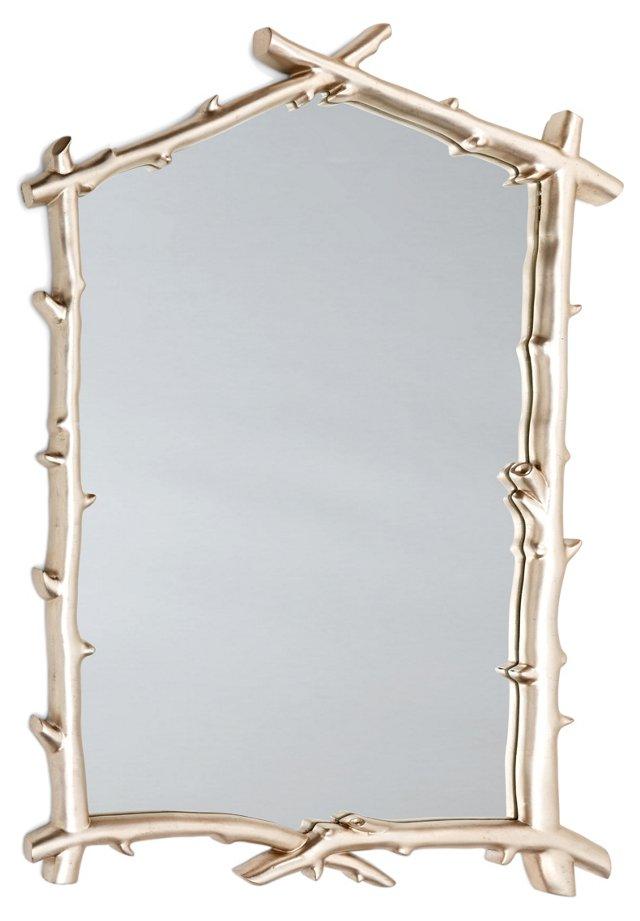 Omi Wall Mirror, Silver