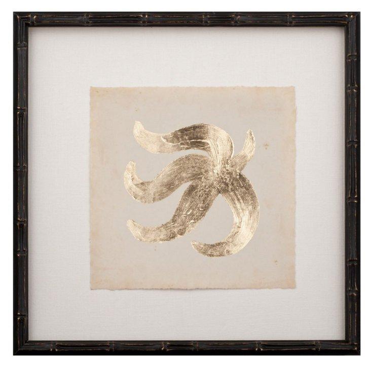 Gold-Leaf Starfish II