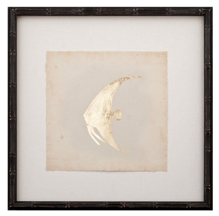 Gold-Leaf Fish IV