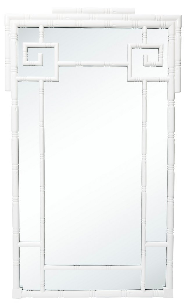 Koto Oversize Mirror, White