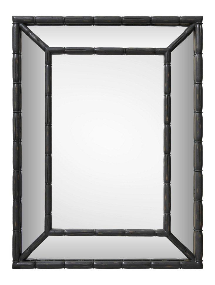 Stratford Oversize Mirror, Graphite