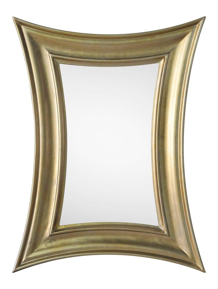 Gibson Oversize Mirror, Gold