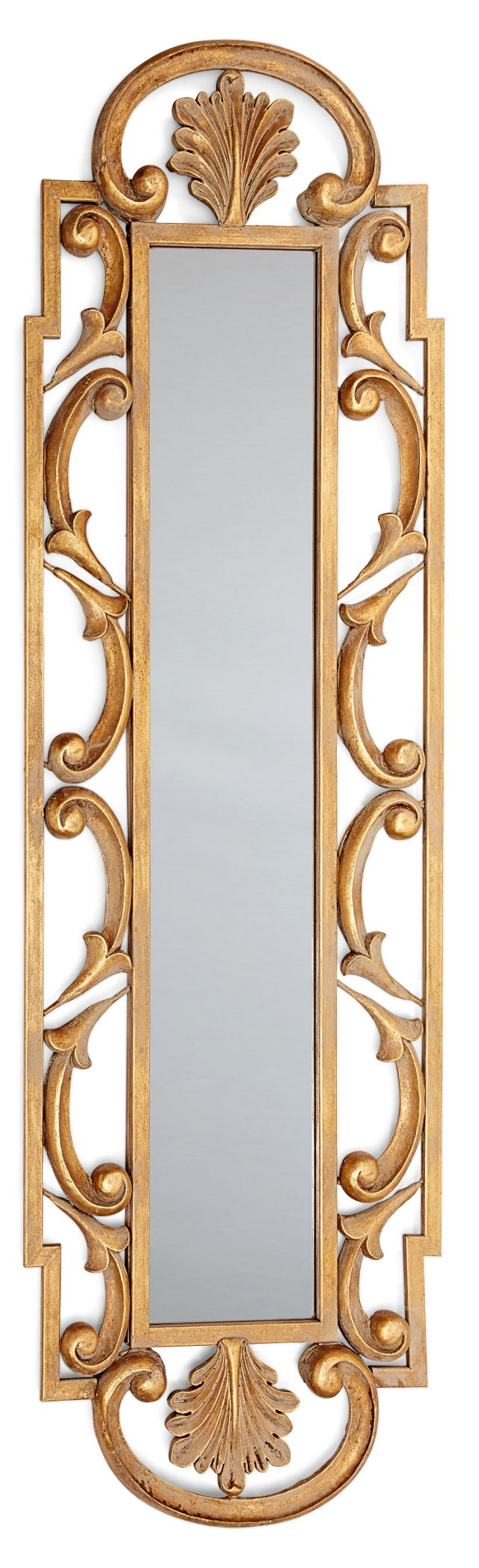 Thessaly Oversize Mirror, Gold