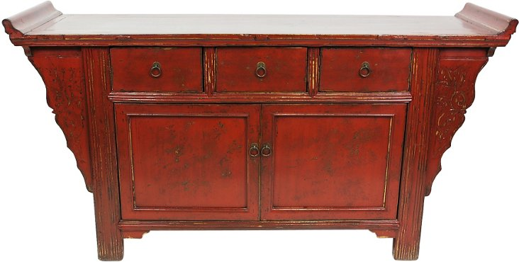 Chinese Flying-End Altar Buffet