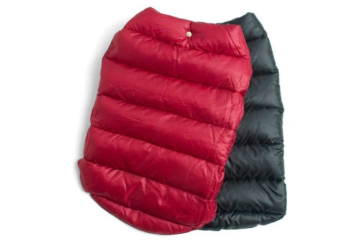 Reversible Puffer Jacket, Red/Black