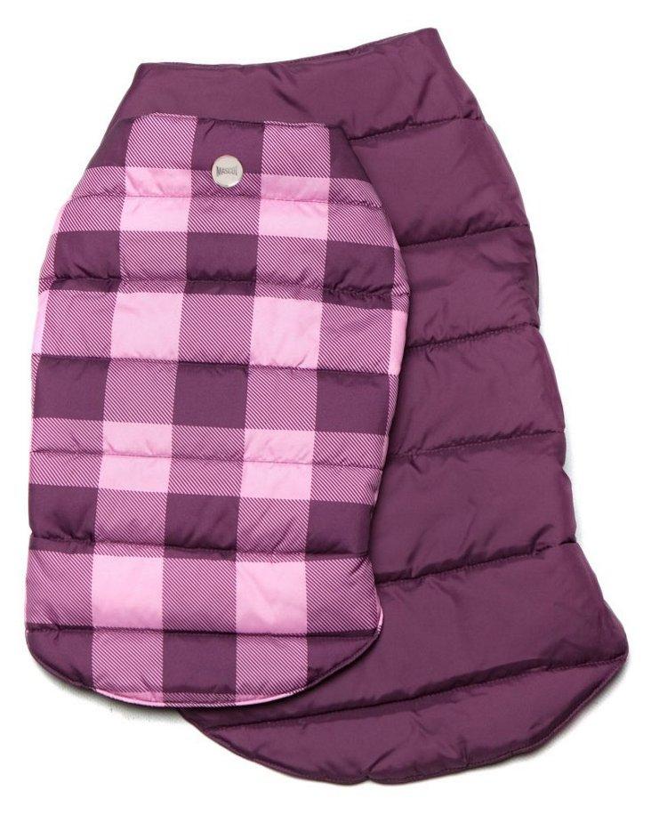 Reversible Puffer Jacket, Pink/Plum