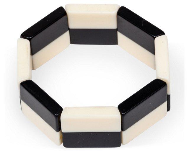 Expandable Bakelite Bracelet