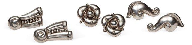 Sterling Earrings, 3 Pairs I