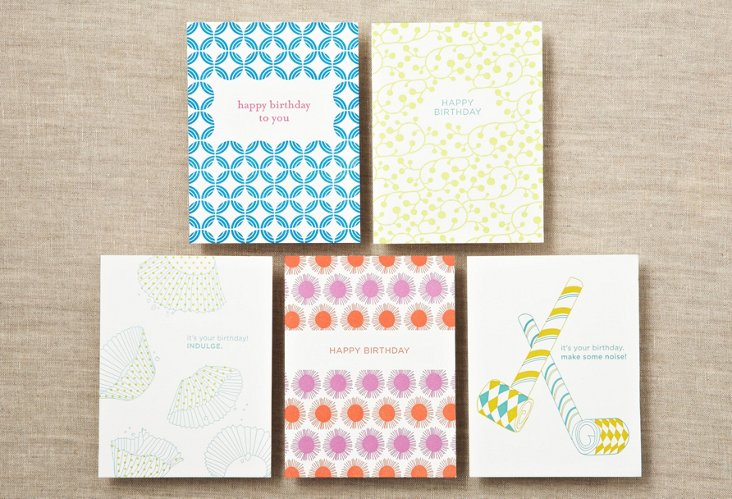 S/10 Assorted Birthday Cards