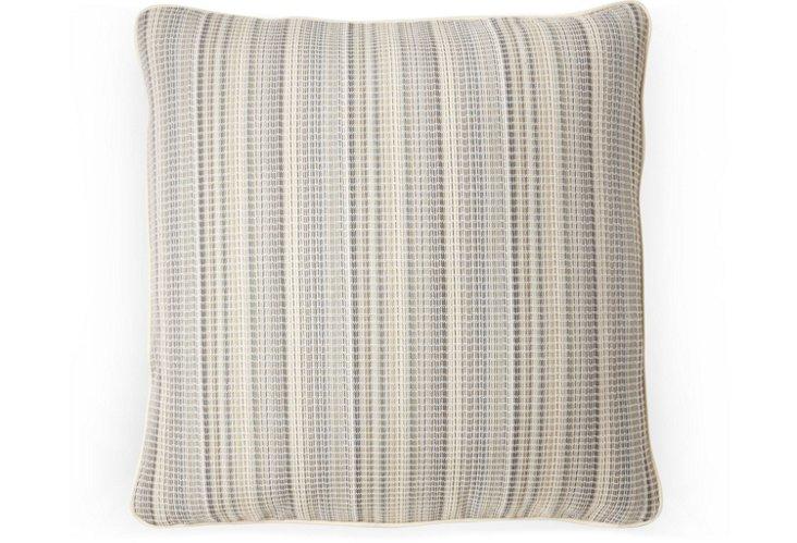 Equestrian Stripe 20x20 Pillow, Hay