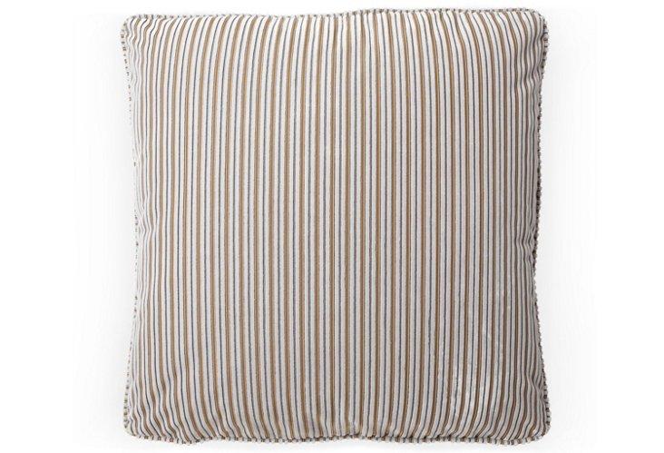Bordeaux 20x20 Pillow, Silver Cloud