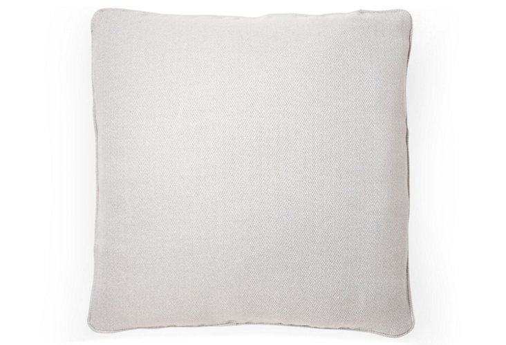 Adlington 20x20 Pillow, Ice Gray